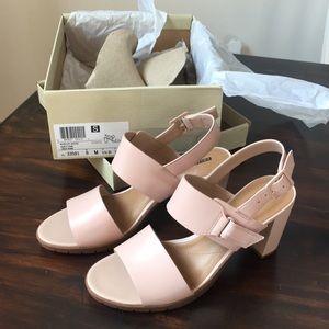 ee0dead1e765 Clarks Shoes - Clarks Kurtley Shine Heeled Sandals